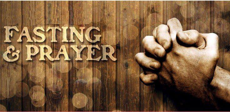 การอดอาหารอธิษฐานตามพระคัมภีร์